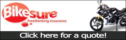 Bikesure Insurance - Click here for a quote